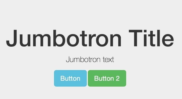 Bootstrap Jumbotron Tutorial Bootstrapbay